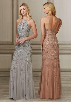 Adrianna Papell Platinum 40143 Halter Bridesmaid Dress