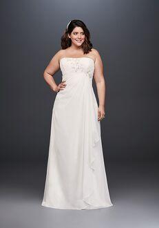 David's Bridal David's Bridal Style 9WG3872 Sheath Wedding Dress