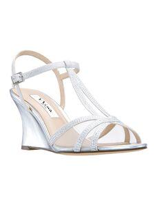 Nina Bridal Viveca_Silver Silver Shoe