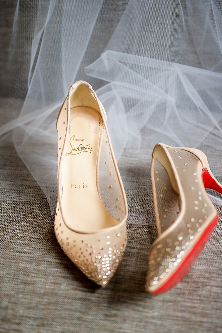 Modern, Elegant Heels with Sequins