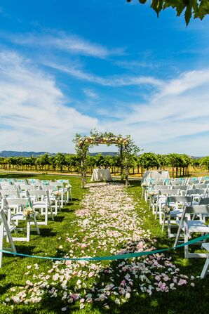 Cornerstone Gardens Wedding Ceremony