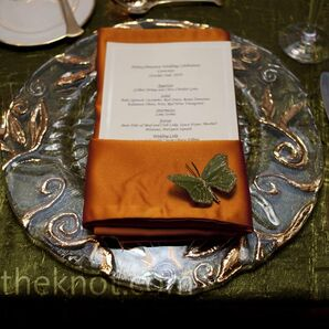 Metallic Place Settings