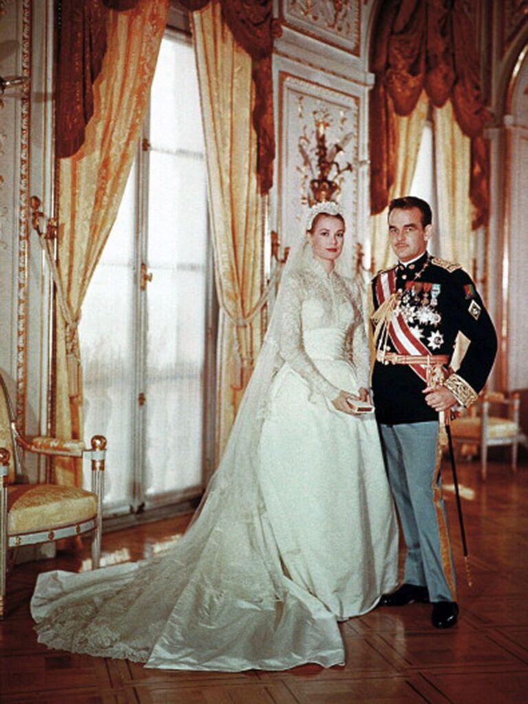Grace Kelly Wedding dress, Sabrina Dahan wedding dress