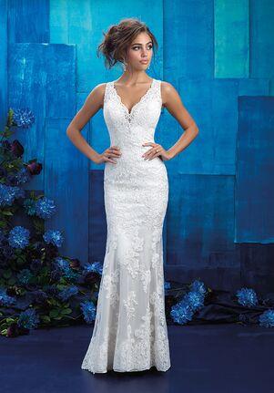 Allure Bridals 9415 Sheath Wedding Dress