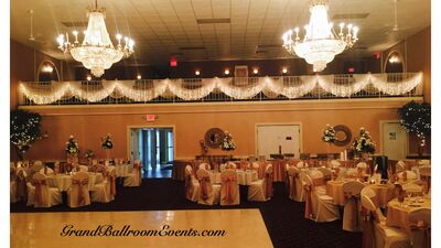 Grand Ballroom Events catered by Sausalito Catering