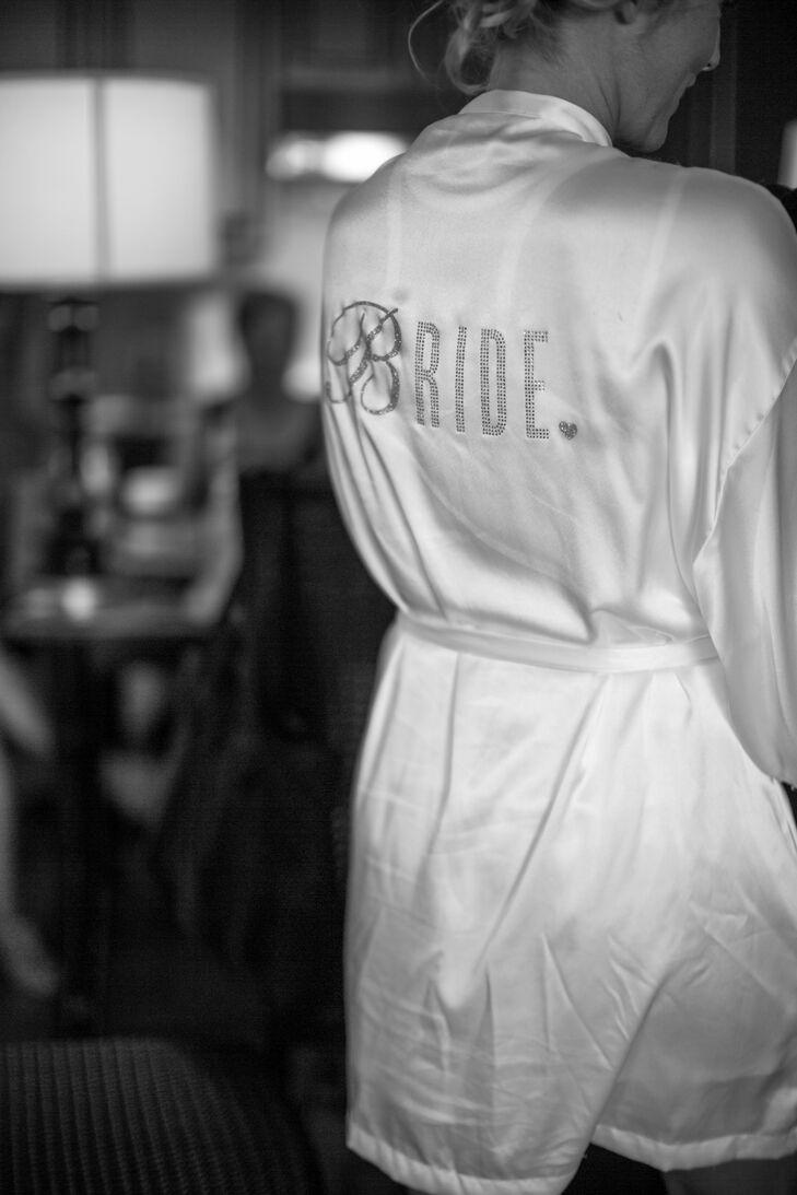Bling Bridal Robe