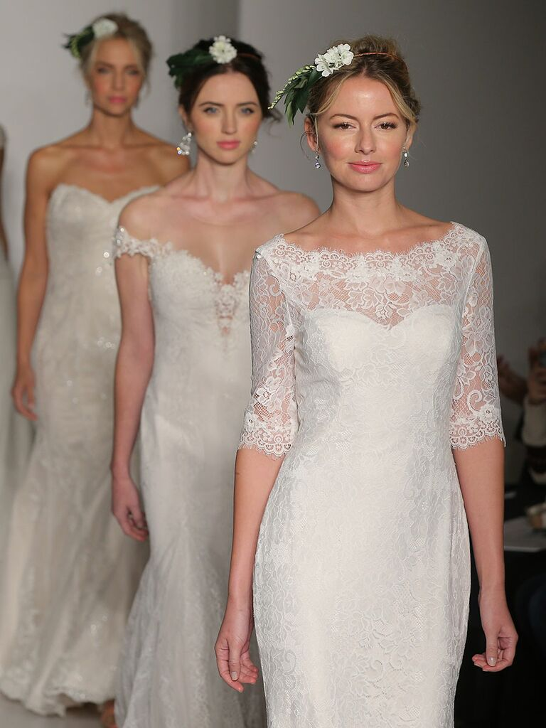 Maggie Sottero Fall 2017 Bridal Fashion Week wedding dresses