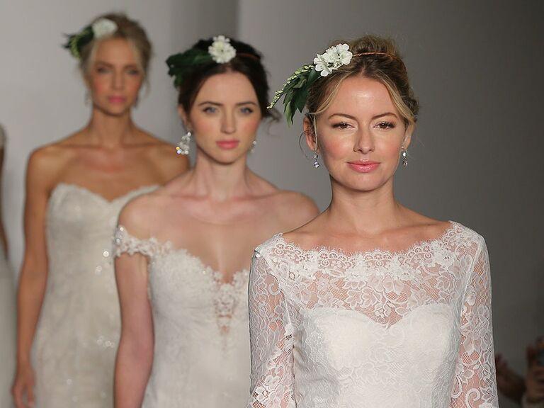 Maggie Sottero Fall 2017 Bridal Fashion Week wedding dresses