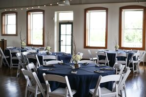 Modern Wichita Boathouse Reception