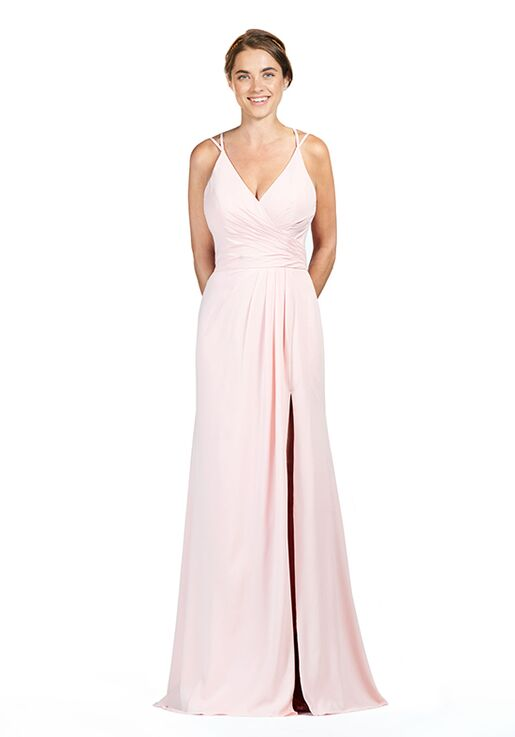 Bari Jay Bridesmaids 1847 V Neck Bridesmaid Dress