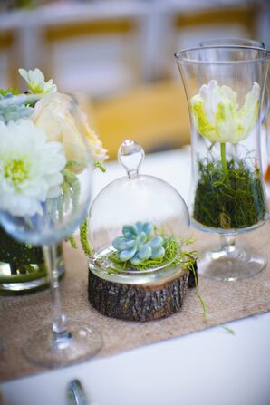 Garden Themed Table Decor