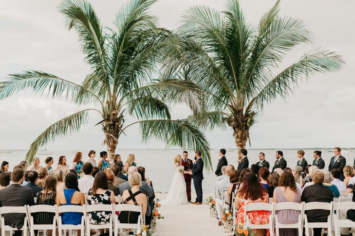 Seaside Ceremony at Lighthouse Beach in Key Largo, Florida