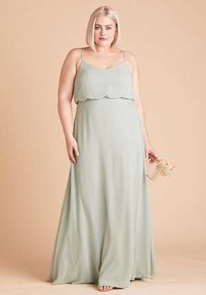 Birdy Grey Gwennie Dress Curve in Sage Bridesmaid Dress