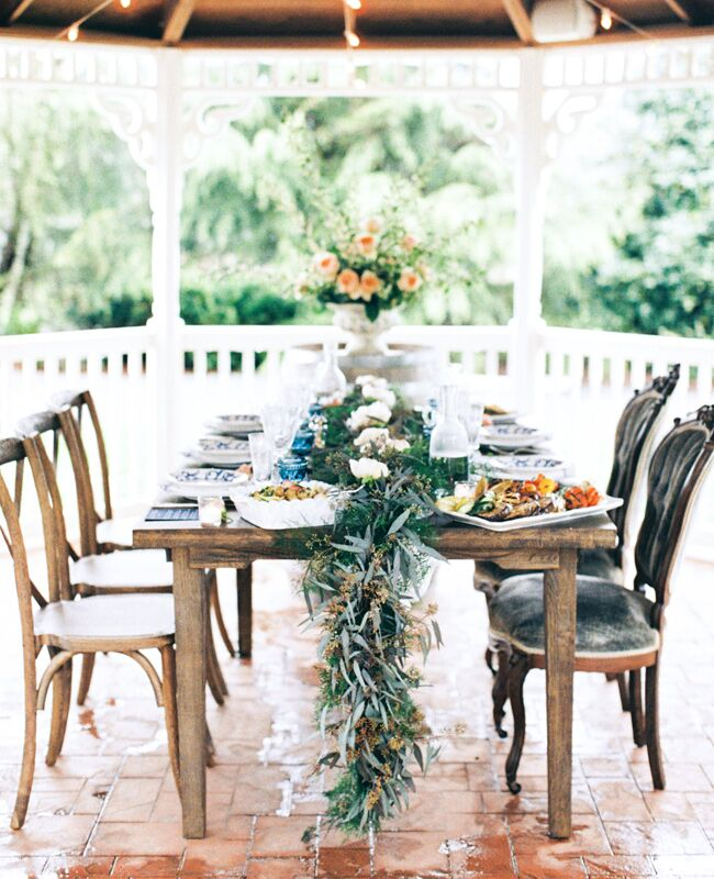 An Organic Vineyard Rehearsal Dinner Styled Shoot -- See
