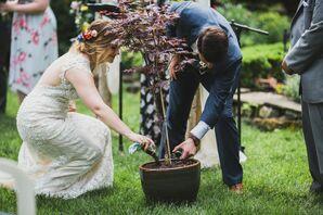 Japanese Maple Tree Planting Ceremony