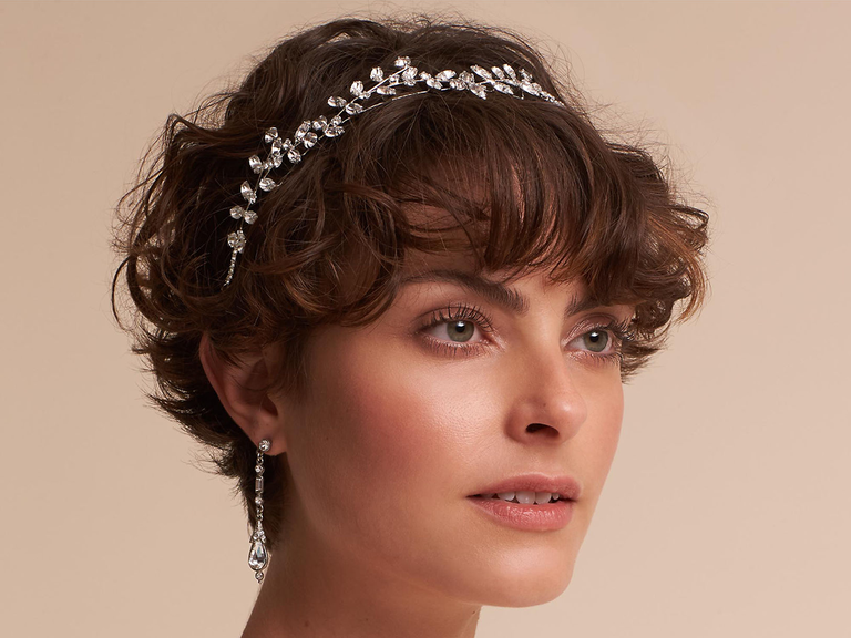 Jennifer Behr Cordelia circlet crystal bridal headpiece