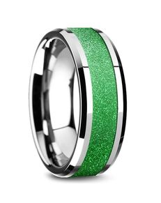 Mens Tungsten Wedding Bands W5874-TSGI Tungsten Wedding Ring