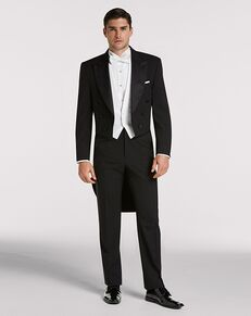 Men's Wearhouse Joseph & Feiss Black Full Dress Tailcoat Black Tuxedo