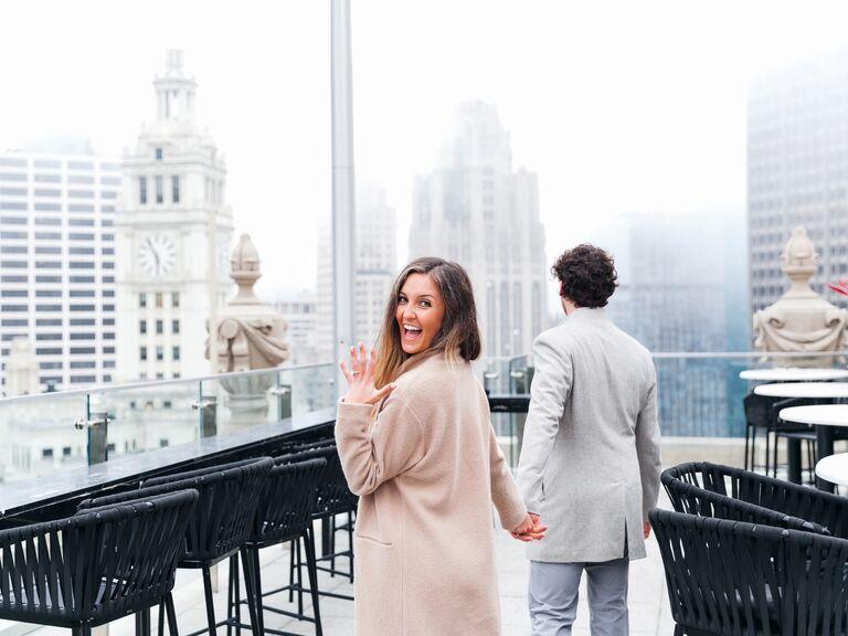 Chicago marraige proposal