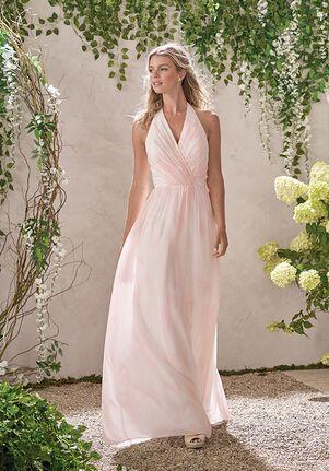 B2 by Jasmine B193014 Halter Bridesmaid Dress