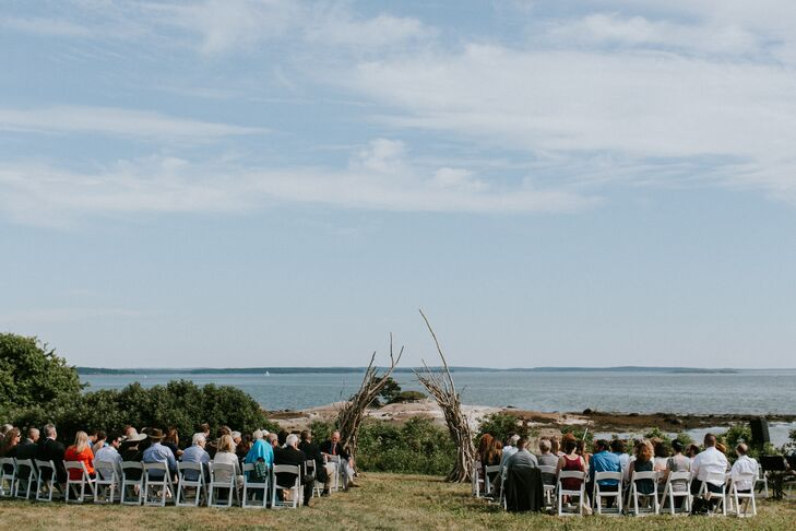 Driftwood Arch and Waterfront Ceremony