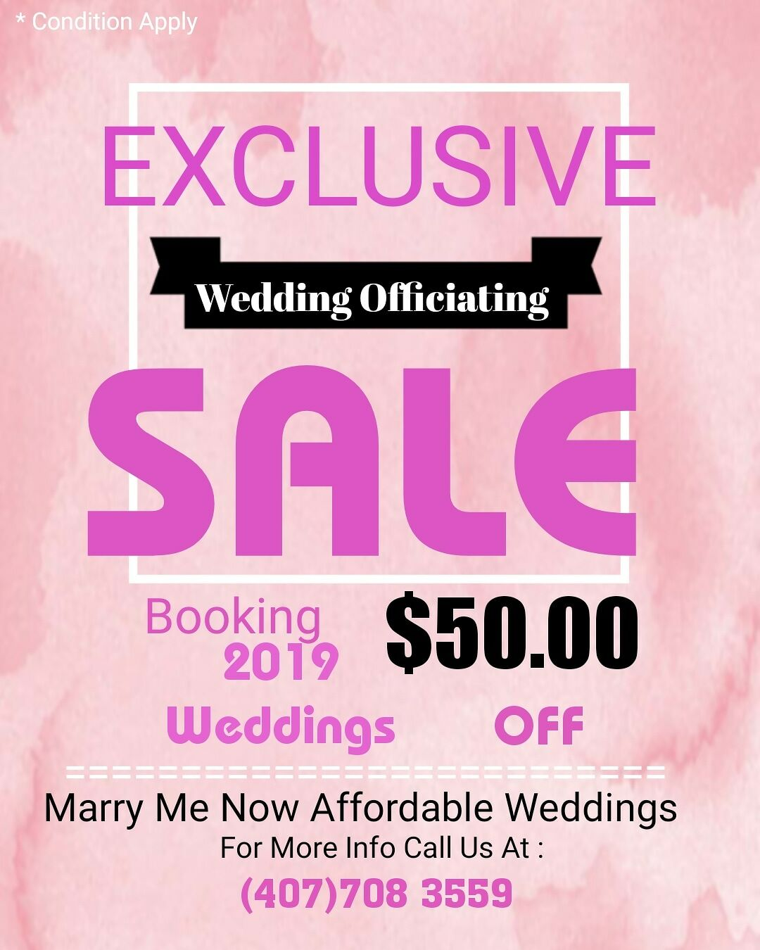 Marry Me Now Affordable Weddings - Sanford, FL