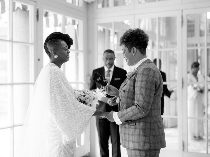 Same-Sex Elopement at Anderson House in Washington, D.C.
