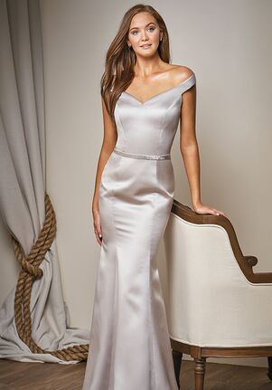 Belsoie Bridesmaids by Jasmine L204011 One Shoulder Bridesmaid Dress