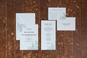 Custom-Designed Fall Wedding Invitations