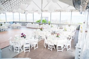 Waterfront Reception in Mashpee, Massachusetts