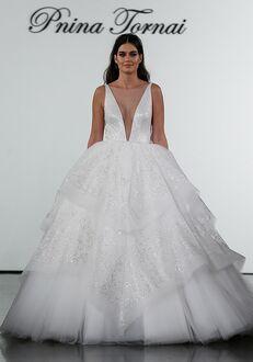 Pnina Tornai for Kleinfeld 4715 Ball Gown Wedding Dress