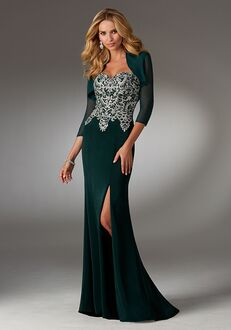 MGNY 71518 Black Mother Of The Bride Dress