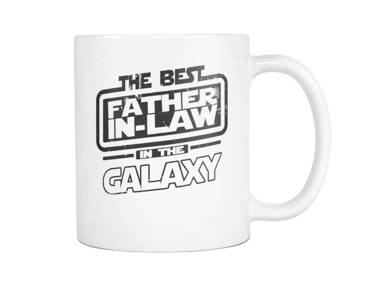 Star Wars mug gift for father-in-law