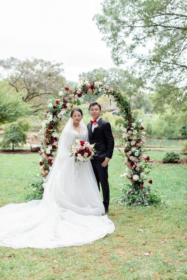 Couple Portraits for Wedding at the University of Illinois
