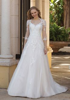 Sincerity Bridal 44095 A-Line Wedding Dress