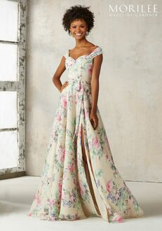 Morilee by Madeline Gardner Bridesmaids 21528 Off the Shoulder Bridesmaid Dress