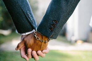 Holding Hands with Dangling Bracelet