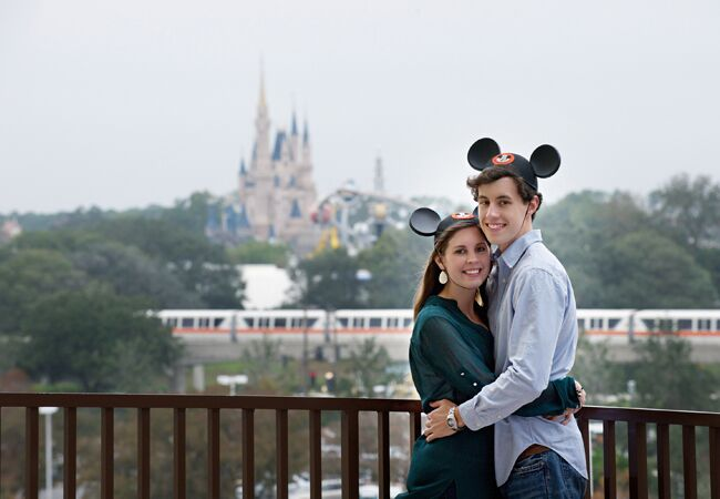 Disney World Engagement Session | Portrayable Photography | From: Blog.theknot.com