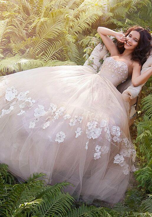 Jim Hjelm 8561 A-Line Wedding Dress