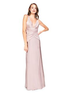 Bari Jay Bridesmaids 2001 V-Neck Bridesmaid Dress
