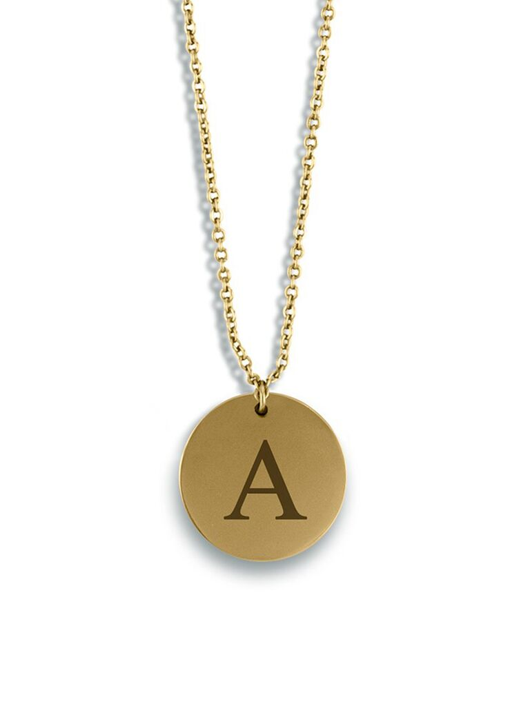 Monogrammed necklace