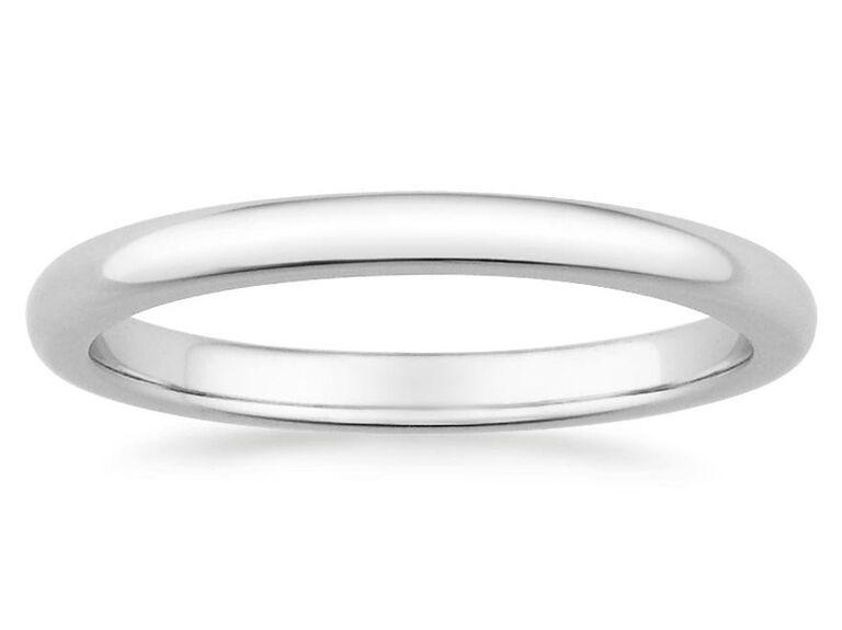 Brilliant Earth 3 Millimeter Comfort Fit Men S Wedding Rin