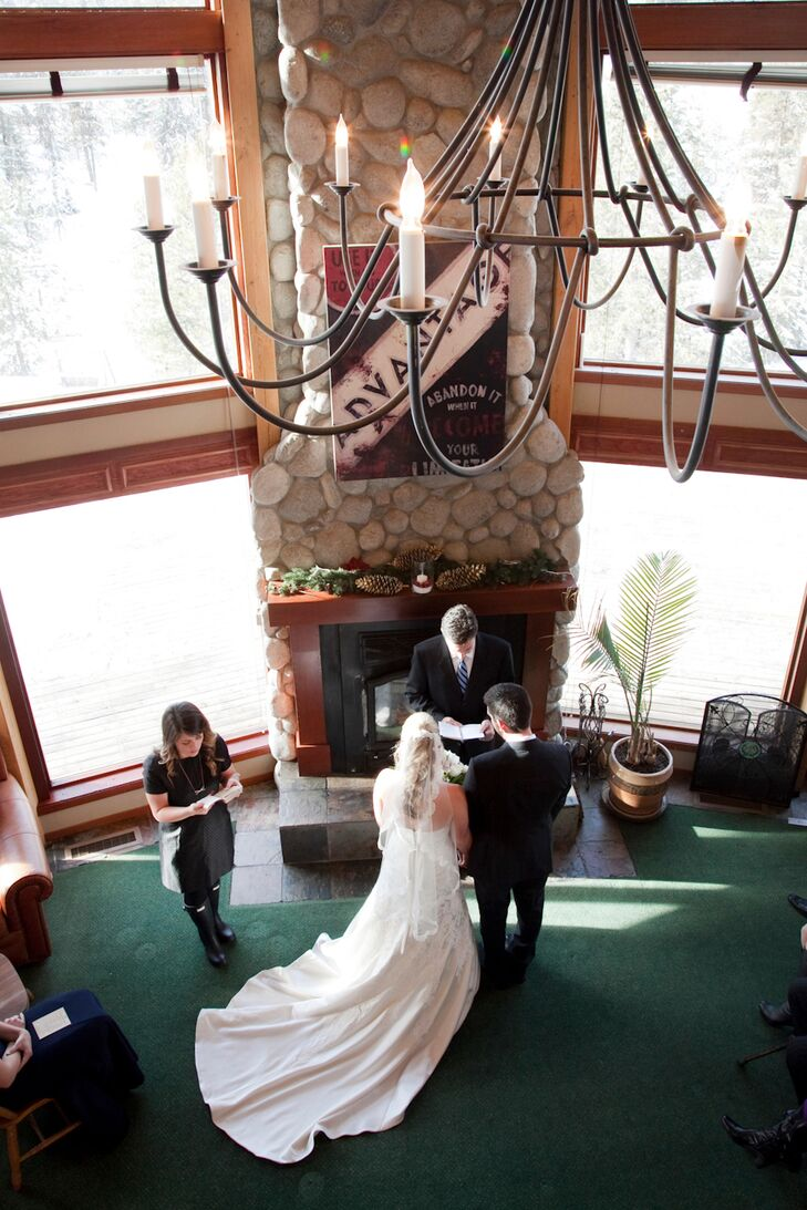 Bryanna and Matthew had an intimate wedding with only their closets family and friends in McCall, Idaho. However, they had a reception at Matthew's parents' home almost a year later.