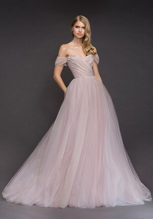 Blush by Hayley Paige 1809-Milo Ball Gown Wedding Dress