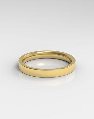 HOLDEN The Square Platinum, Rose Gold, White Gold Wedding Ring