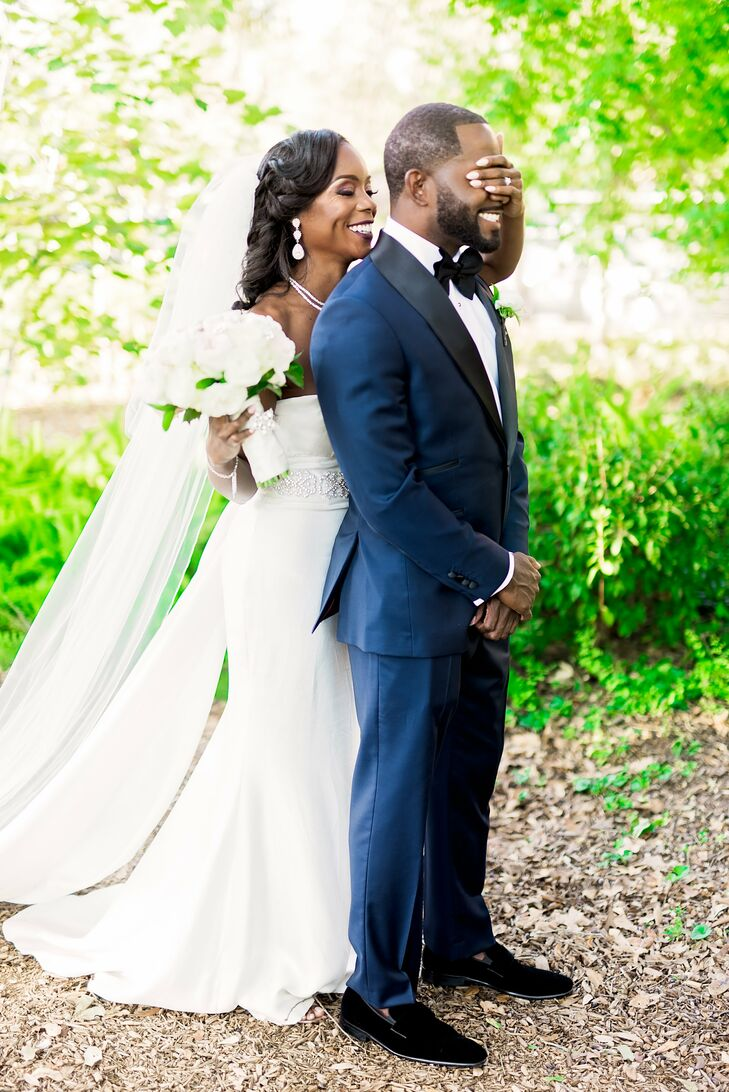 "Gina Armstrong (36 and a physician) was not ""that girl who had my entire wedding planned out years ago,"" she says. But after meeting Andre Evans (31 a"