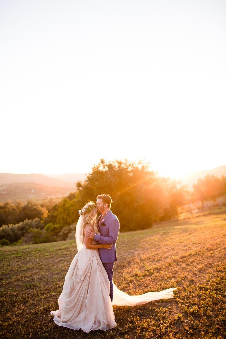 Vanessa Ray and Landon Beard's wedding