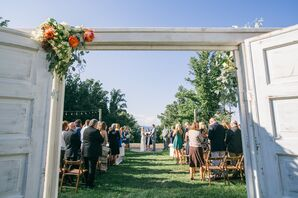 Outdoor Mountainside Ceremony