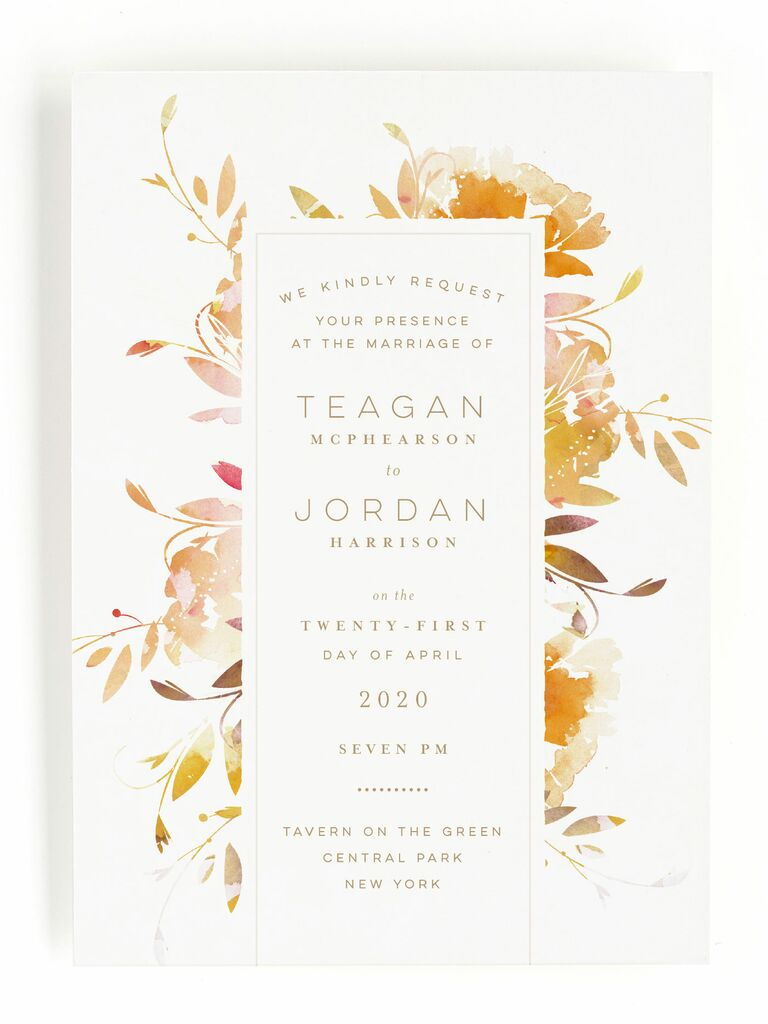 50 Spring Wedding Invitations You Can Order Online
