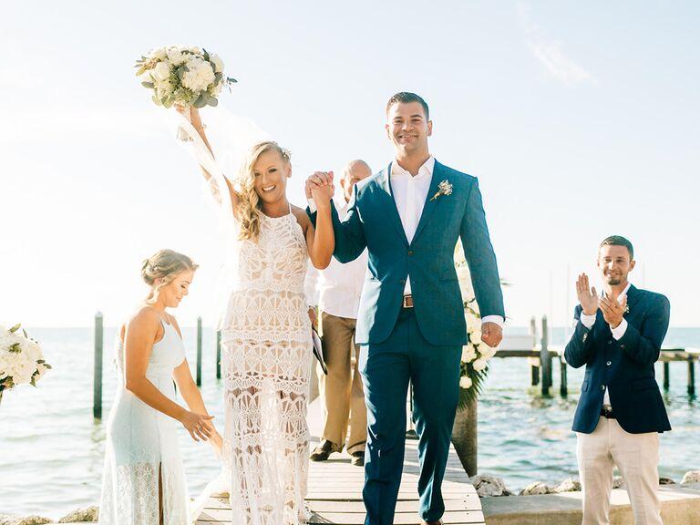 wedding ceremony in islamorada florida